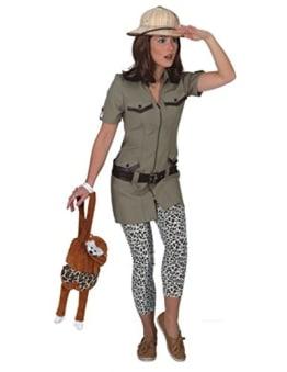 Safarikleid : Kleid und Gürtel - 1