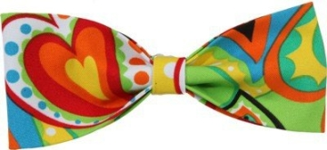 Schleife, verschiedene Farben, Punktmuster, sortiert, 30 cm - 8