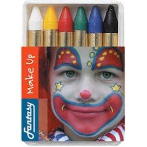 Schminkstifte: 6 Stifte in bunten Farben zum Gesichteranmalen - 1
