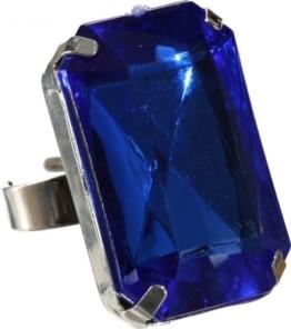 Schmuck: Ring mit blauem Stein - 1