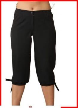 schwarze Kniebundhose - 1