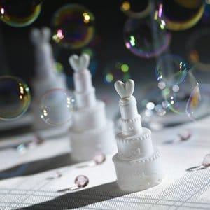 Seifenblasen: Hochzeitstorte als Wedding Bubbles, 27 ml - 1