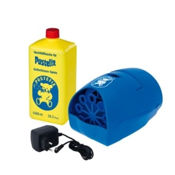 Seifenblasenmaschine: Party Bubbler von Pustefix mit Netzteil - 1