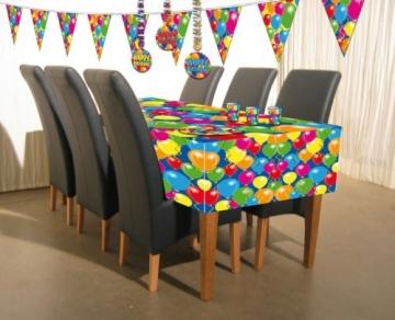 Servietten: Cocktail-Servietten, Zahl 60, Serie Balloons, 25 x 25 cm, 20er-Pack - 2