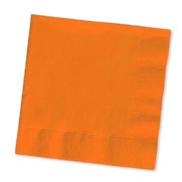 Servietten: Papierservietten, uni, hellblau, 30 x 30 cm, dreilagig, 20er-Pack - 9