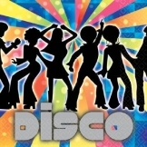 "Servietten: Party-Servietten, ""Disco Dancer"", 33 x 33 cm, 16 Stück - 1"