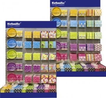 """Servietten: Party-Servietten """"Dots Purple"""", 33 x 33 cm, 20 Stück - 3"""