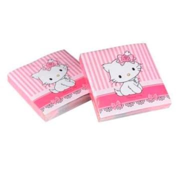 Servietten: Party-Servietten, Hello Kitty/Charmmy Kitty, 33 x 33 cm, 20er-Pack - 1