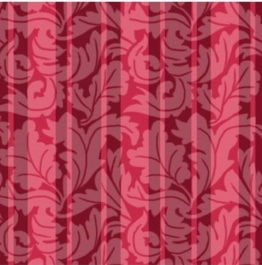 Servietten: Party-Servietten, Ornament, rot, 33 x 33 cm, 20 Stück - 1