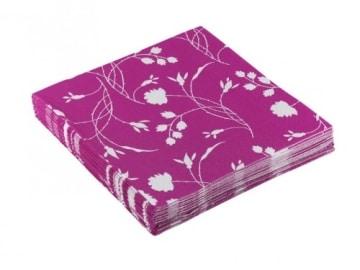 """Servietten: Party-Servietten """"Pink"""", 33 x 33 cm, 20 Stück - 2"""