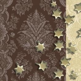 Servietten: Party-Servietten, Stars, 33 x 33 cm, 20 Stück - 1