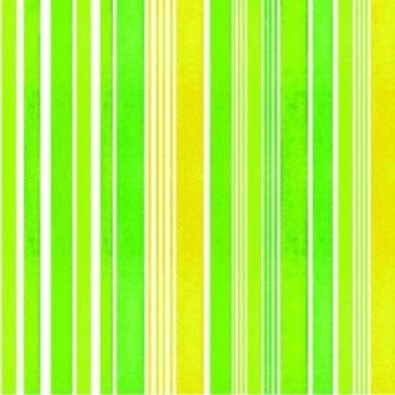 """Servietten: Party-Servietten """"Stripes Green"""", 33 x 33 cm, 20 Stück - 1"""