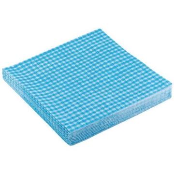 """Servietten: Party-Servietten """"Vichy Blue"""", 33 x 33 cm, 20 Stück - 1"""