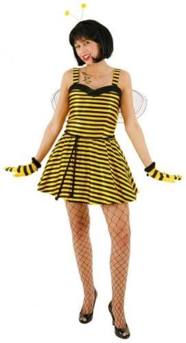 Sexy Biene : Kleid, Petticoat und Flügel - 1