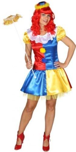 Sexy Clownkleid : Kleid und Petticoat Petticoat) - 1