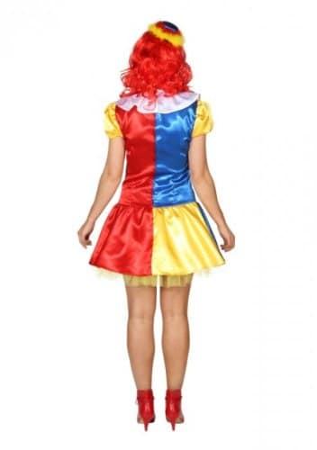 Sexy Clownkleid : Kleid und Petticoat Petticoat) - 2