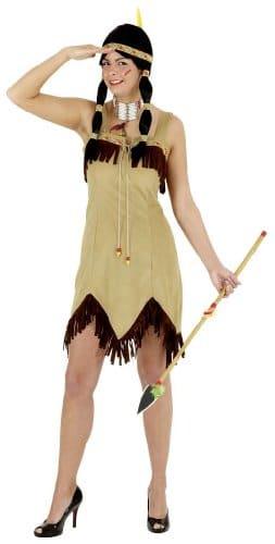 Sexy Indianerin beige - 1
