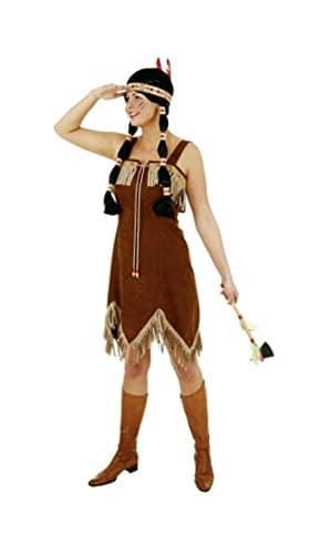 Sexy Indianerin braun - 1