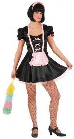 Sexy Stubenmädchen / Zimmermädchen – Kleid und Haarreif - 1