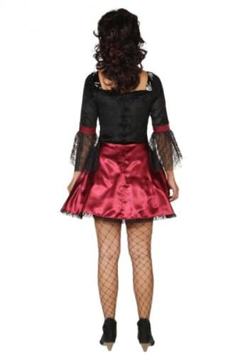 Sexy Vampir Totenkopf : Kleid und Petticoat - 2
