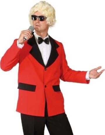 Show Jacke rot ohne Futterstoff - 1