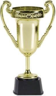 Siegerpokal aus Kunststoff, 23 cm - 1