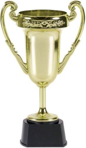 Siegerpokal aus Kunststoff, 23 cm - 2