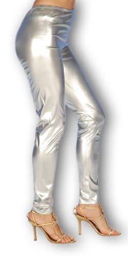 silberne Leggings - 1