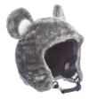 Skihelm-Verkleidung: Skihelm – Cover, Bär, grau, Skihelmüberzug Snowboardhelm Überzug - 1