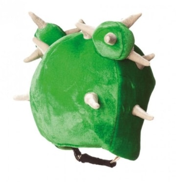 Skihelm-Verkleidung: Skihelmcover, Kaktus mit Stacheln, grün - 2