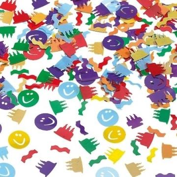 Smiley-Konfetti zur Dekoration, 15 g - 1