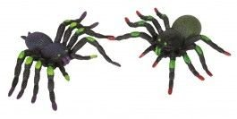 Spinne: Deko-Spinne, Kunststoff, 2er-Pack - 1