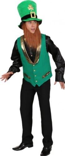 St. Patricks Day: Weste mit Futter, grün - 1