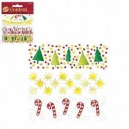 Streu-Deko: Konfetti, 3 verschiedene Weihnachtsmotive, 34 g - 1