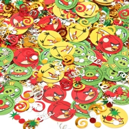 "Streu-Deko: Konfetti, Motiv ""Angry Birds"" - 1"