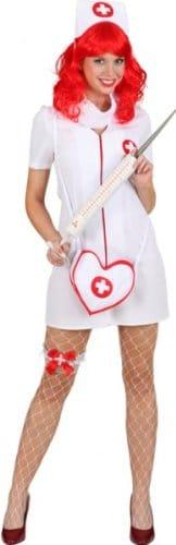 Strumpfband für eine Krankenschwester, Erste-Hilfe-Kreuz - 1