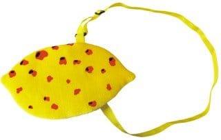 Tasche: Zitronen-Tasche, gelb - 1