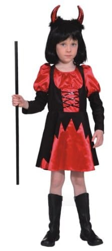 Teufelskleid Zara rot - 1