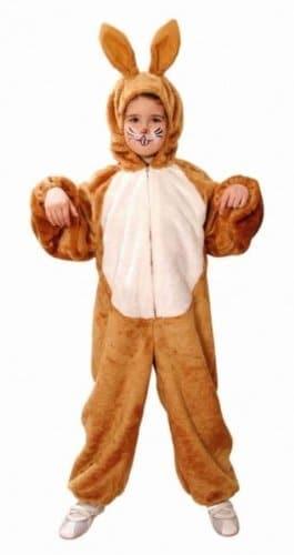 Tier-Kostüm: Hasen-Overall, braun, für Kinder - 1