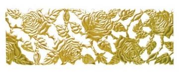 Tischband ROSE gold, Dekoband Tischbänder Tischdeko - 1