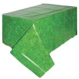 Tischdecke: Fußball-Rasen, 137 x 259 cm, Kunststoff - 1
