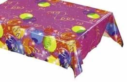 """Tischdecke: Tischtuch, Folie, """"Ballon-Party"""", 120 x 180 cm - 1"""