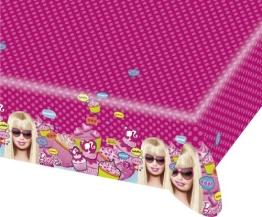 """Tischdecke: Tischtuch, Kunststoff, """"Totally Barbie"""", 120 x 180 cm - 1"""