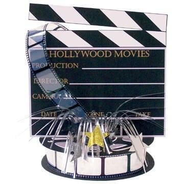 Tischdeko: Filmklappe, 45 cm - 1