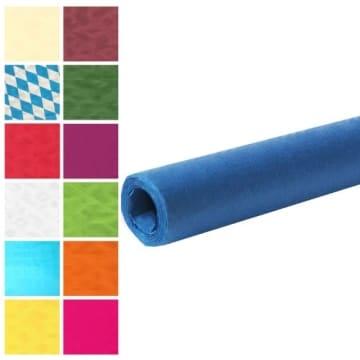 Tischtuch: Damasttischtuchrolle aus Papier, dunkelblau, 8 x 1 m - 1