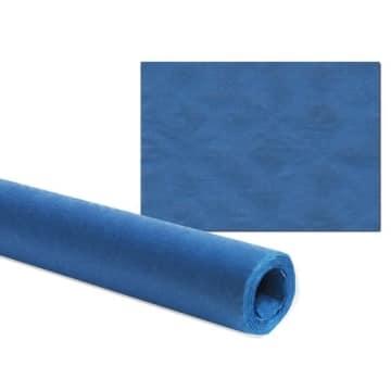Tischtuch: Damasttischtuchrolle aus Papier, dunkelblau, 8 x 1 m - 2