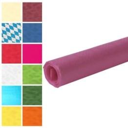Tischtuch: Damasttischtuchrolle aus Papier, lila, 8 x 1 m - 1