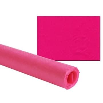 Tischtuch: Damasttischtuchrolle aus Papier, pink, 8 x 1 m - 2