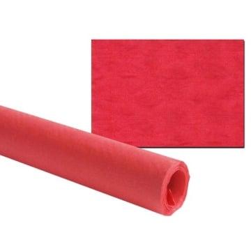 Tischtuch: Damasttischtuchrolle aus Papier, rot, 8 x 1 m - 2