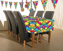 Tischtuch: Tischdecke, Kunststoff, Serie Balloons, 130 x 180 cm - 1